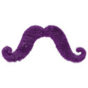 Purple Moustache