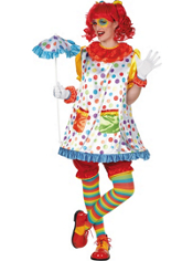 Clown Girl Costume Adult