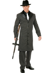 Teen Boys Long Coat Gangster Costume