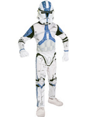 Clone Wars Clone Trooper Costume Boys