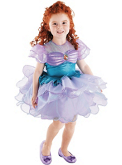 Ballerina Ariel Costume Girls