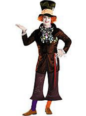 Alice in Wonderland Mad Hatter Costume Adult Prestige