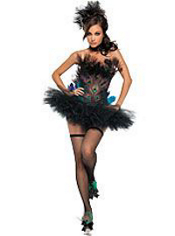 Sexy Peacock Costume Adult