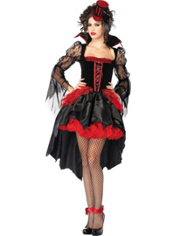 Sexy Midnight Mistress Vampire Costume Adult