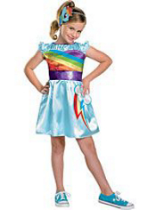 My Little Pony Rainbow Dash Costume Girls
