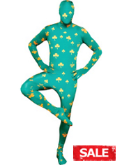 Adult Irish Morphsuit
