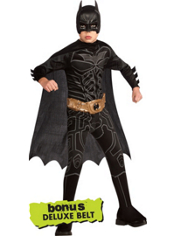 The Dark Knight Rises Batman Costume Boys