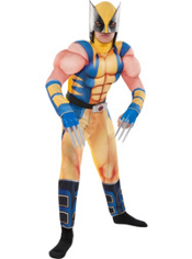 Wolverine Muscle Costume Boys
