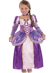 Tangled Rapunzel Costume Girls Supreme