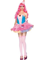 Frosted Cupcake Costume Adult