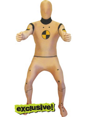 Crash Test Dummy Morphsuit Adult