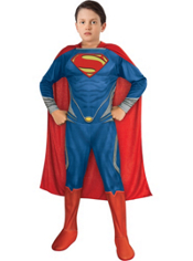 Boys Superman Costume - Man of Steel