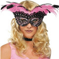 Feather Burlesque Mask