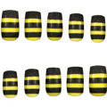 Press-On Bee Nails