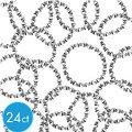 Halloween Skull Bracelets 24ct