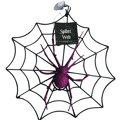 Glitter Purple Spider