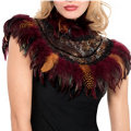 Animal Instinct Feather Collar
