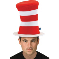 The Cat in the Hat Deluxe Hat Adult