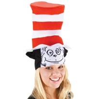 Dr. Seuss Cat Face Hat