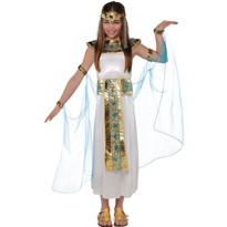 Shimmer Cleopatra Costume Girls